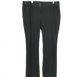 The Limited Drew Fit Charcoal Gray 10L career pant